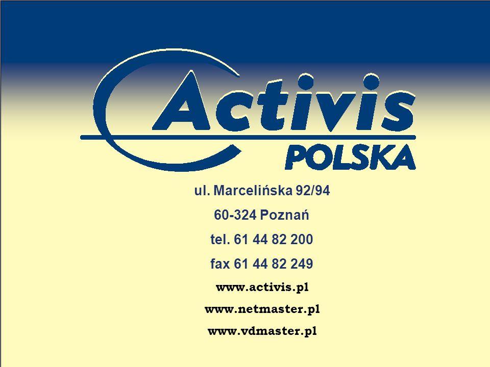 ul. Marcelińska 92/94 60-324 Poznań tel. 61 44 82 200 fax 61 44 82 249