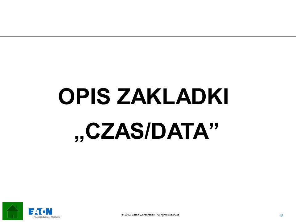 "OPIS ZAKLADKI ""CZAS/DATA"