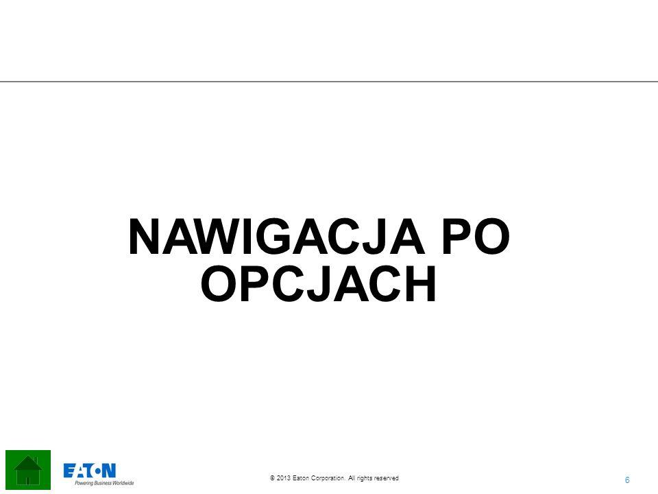 NAWIGACJA PO OPCJACH