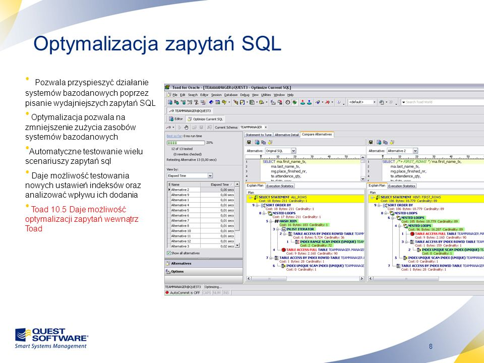 Optymalizacja zapytań SQL
