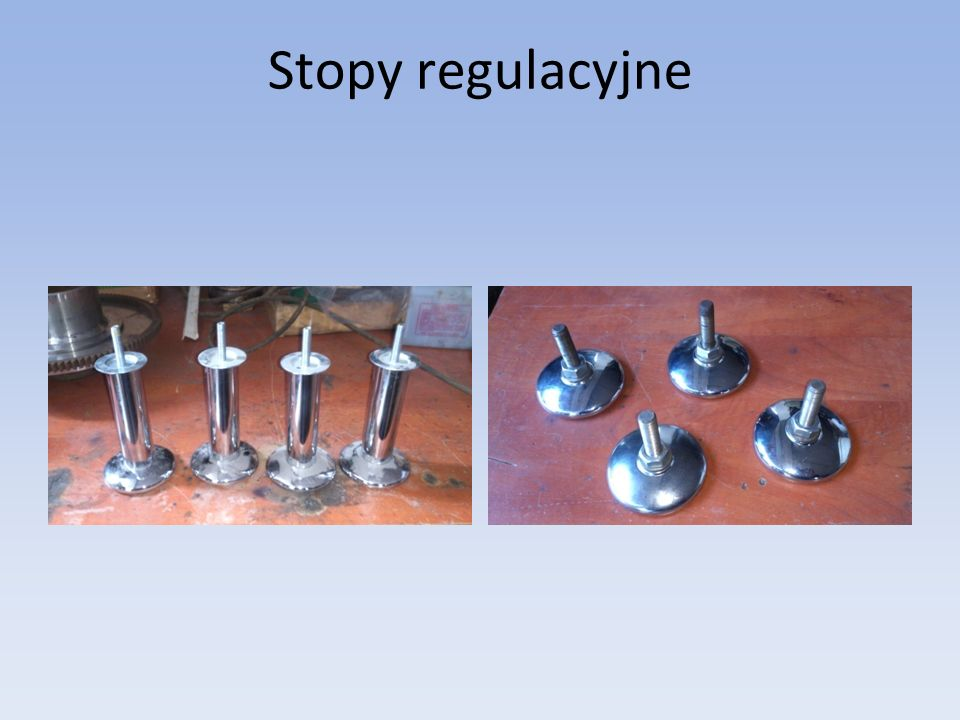Stopy regulacyjne