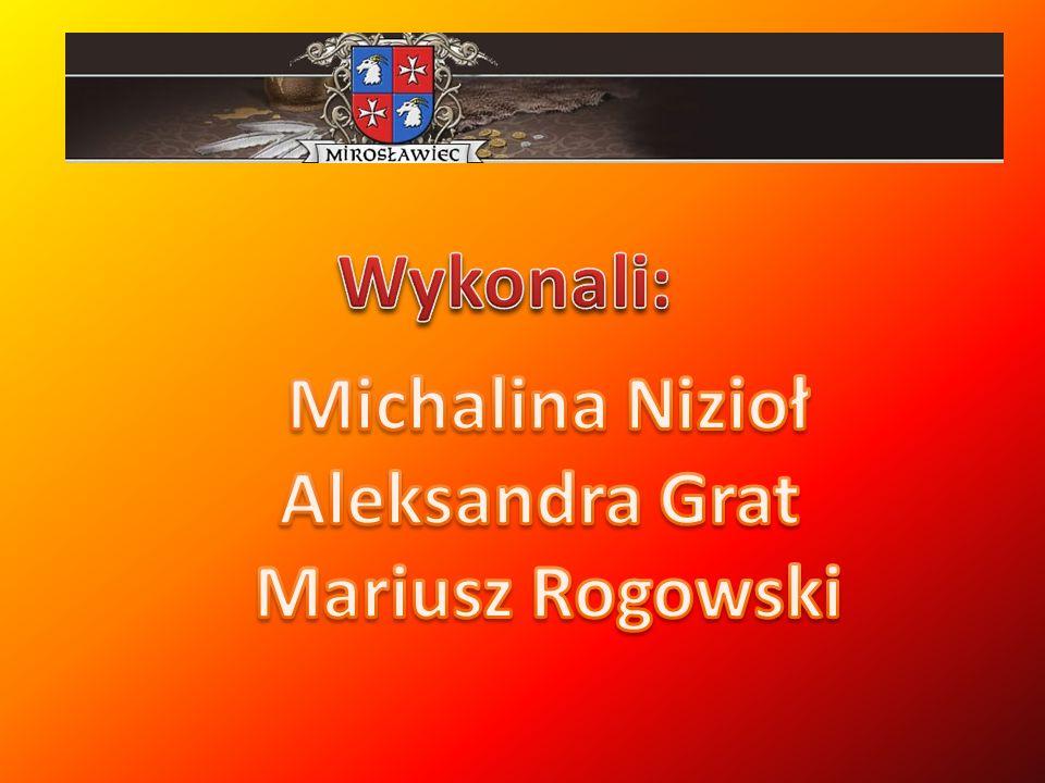 Wykonali: Michalina Nizioł Aleksandra Grat Mariusz Rogowski