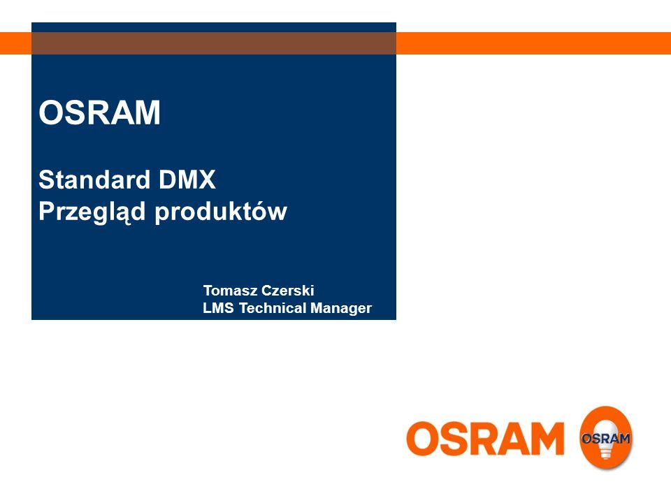 OSRAM Standard DMX Przegląd produktów