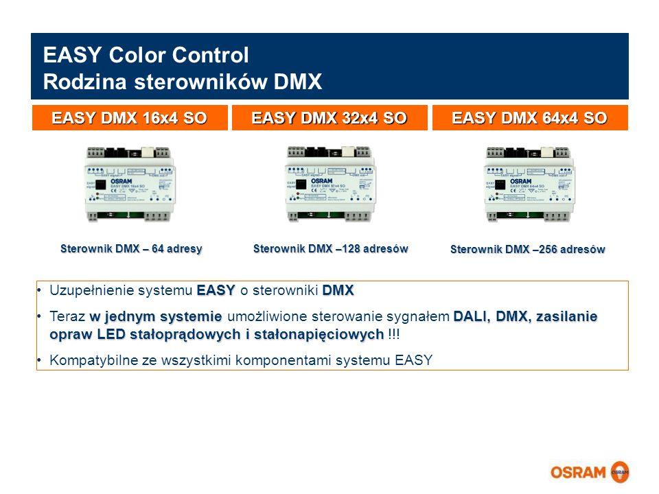 EASY Color Control Rodzina sterowników DMX