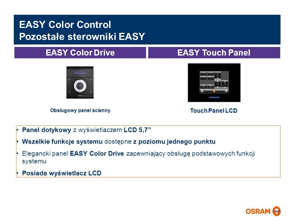 EASY Color Control Pozostałe sterowniki EASY