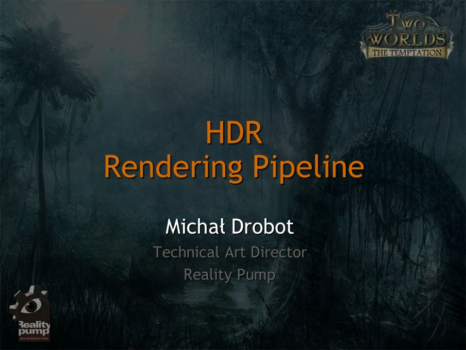HDR Rendering Pipeline