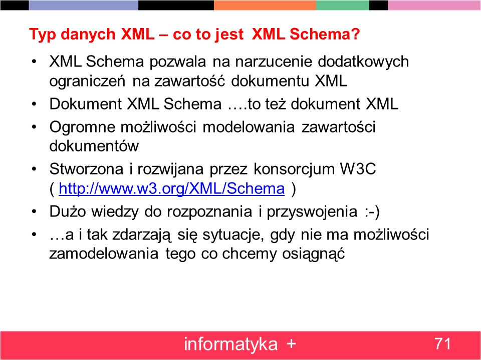 Typ danych XML – co to jest XML Schema
