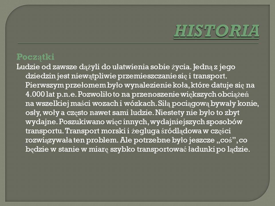 HISTORIA Początki.
