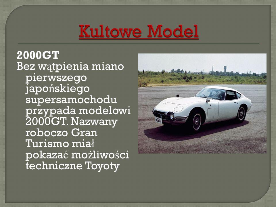 Kultowe Model2000GT.