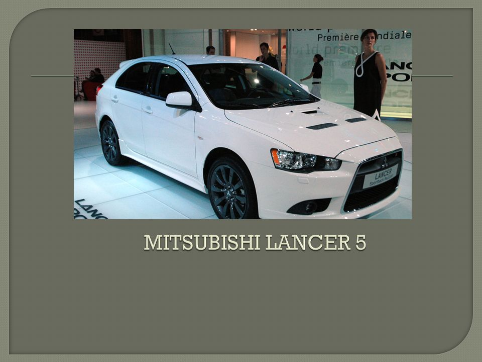 MITSUBISHI LANCER 5