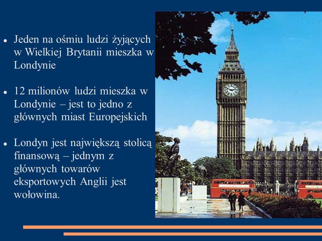 Jeden na ośmiu ludzi żyjących w Wielkiej Brytanii mieszka w Londynie