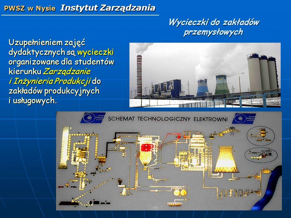 Wycieczki do zakładów przemysłowych