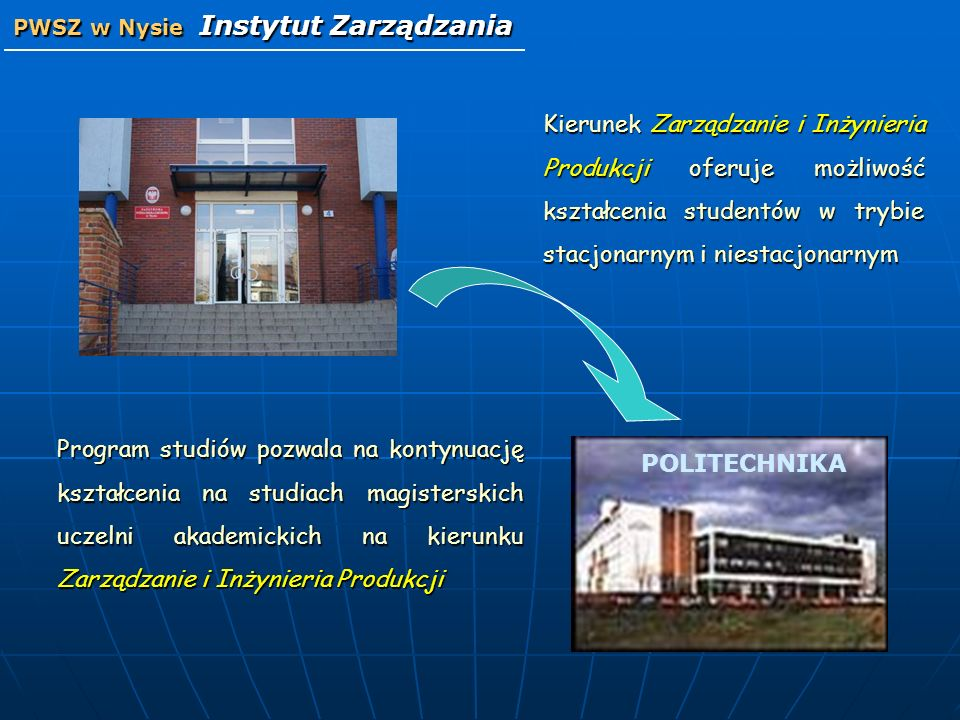 PWSZ w Nysie Instytut Zarządzania