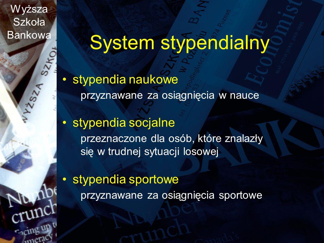 System stypendialny stypendia naukowe stypendia socjalne