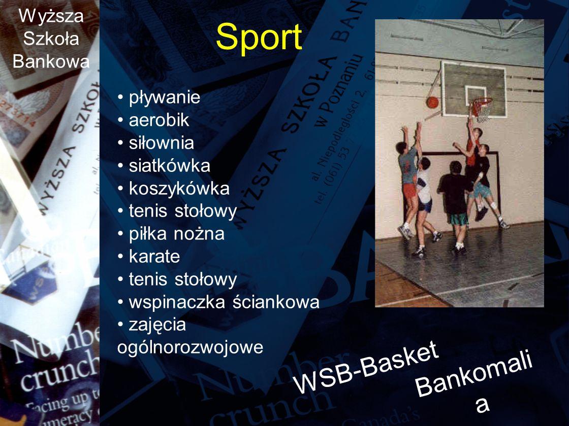 Sport WSB-Basket Bankomalia pływanie aerobik siłownia siatkówka