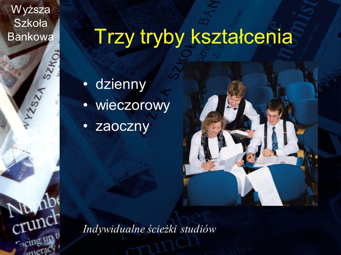 Trzy tryby kształcenia
