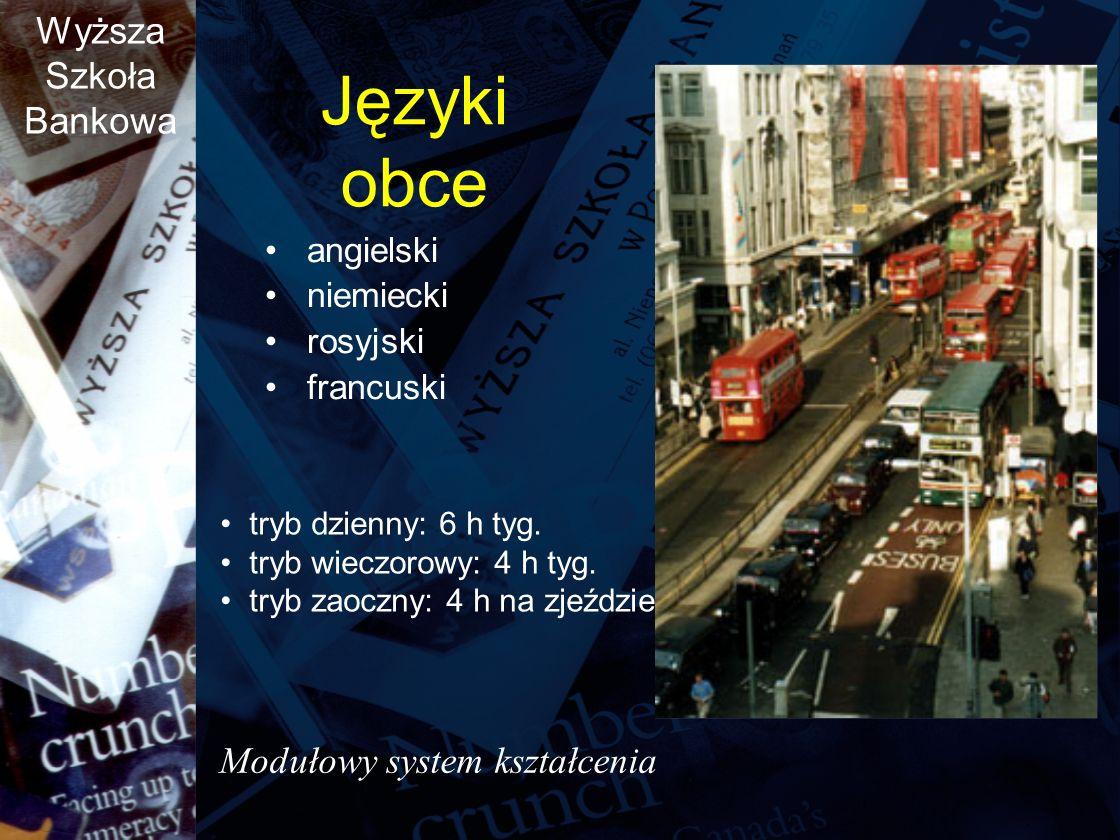 Języki obce Modułowy system kształcenia angielski niemiecki rosyjski