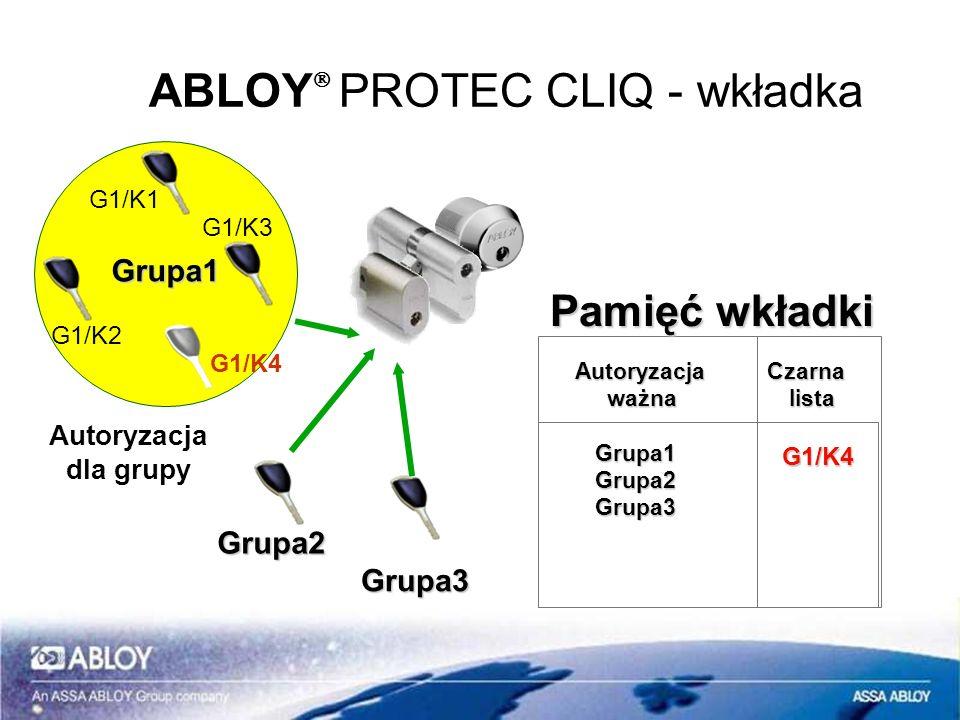 ABLOYÒ PROTEC CLIQ - wkładka