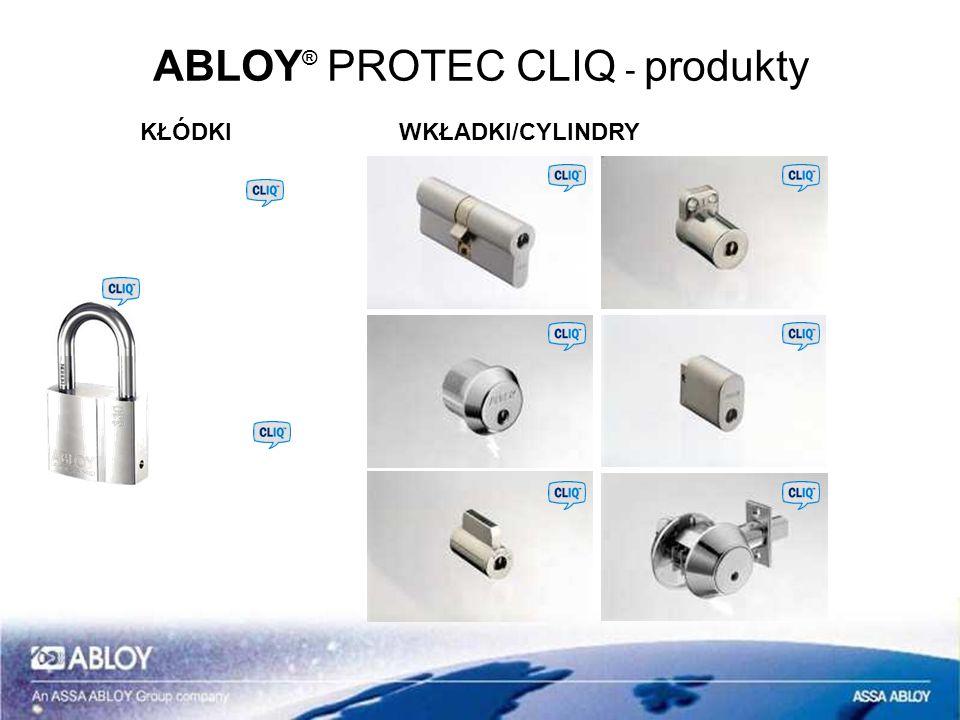 ABLOY® PROTEC CLIQ - produkty