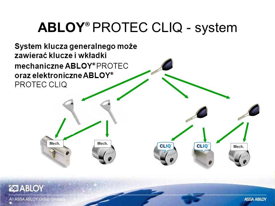 ABLOYÒ PROTEC CLIQ - system