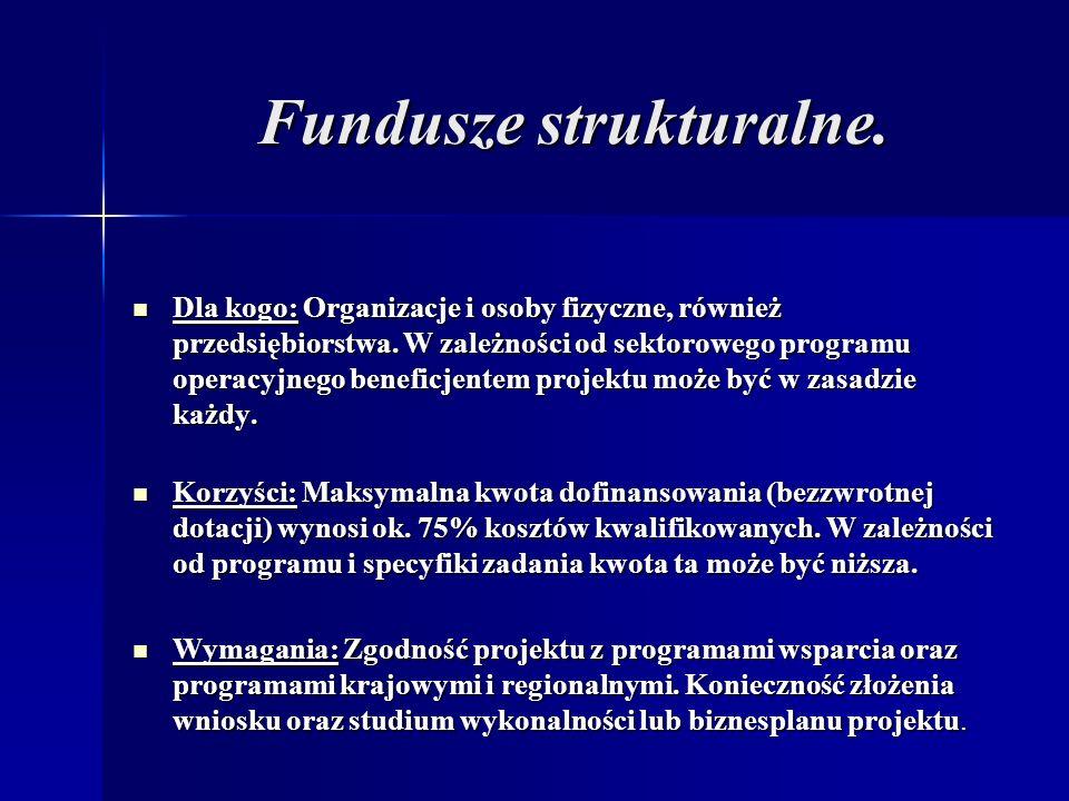 Fundusze strukturalne.