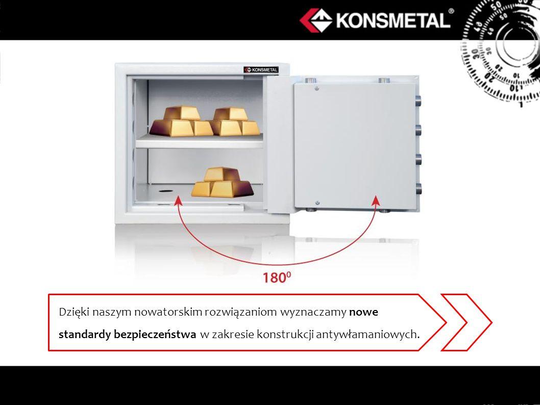 Dzięki naszym nowatorskim rozwiązaniom wyznaczamy nowe standardy bezpieczeństwa w zakresie konstrukcji antywłamaniowych.