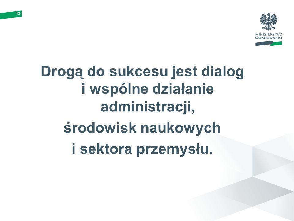 Drogą do sukcesu jest dialog i wspólne działanie administracji,