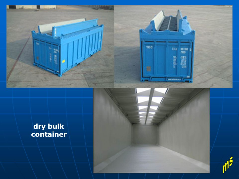 dry bulk container ms