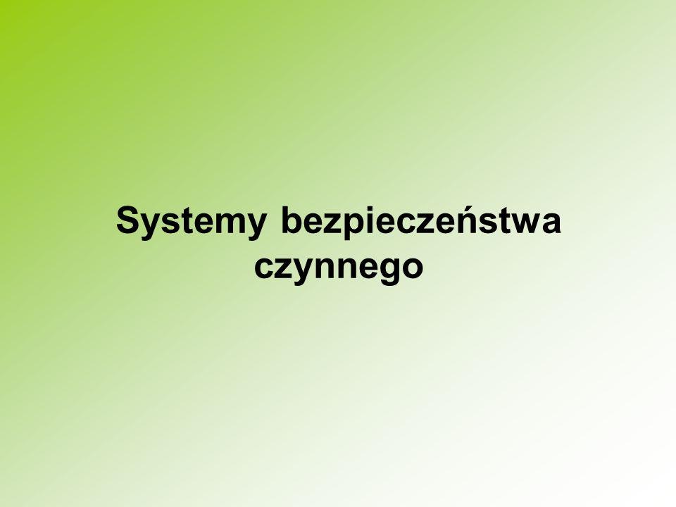 Systemy bezpieczeństwa czynnego