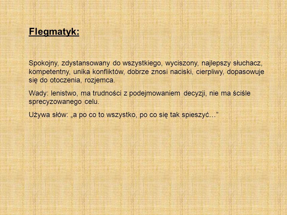 Flegmatyk: