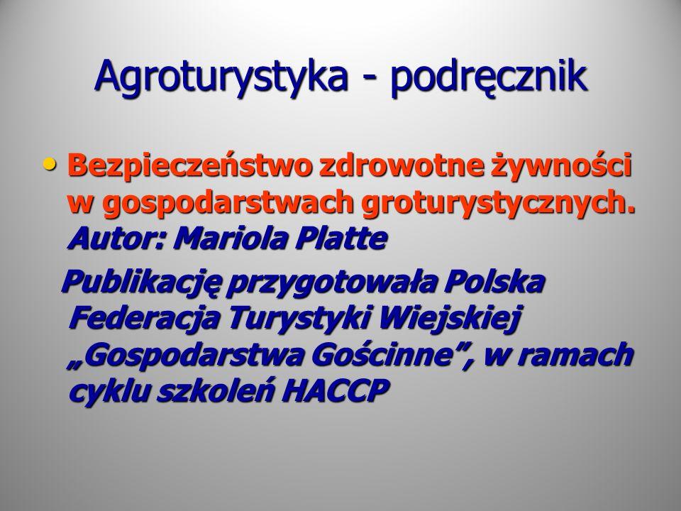 Agroturystyka - podręcznik