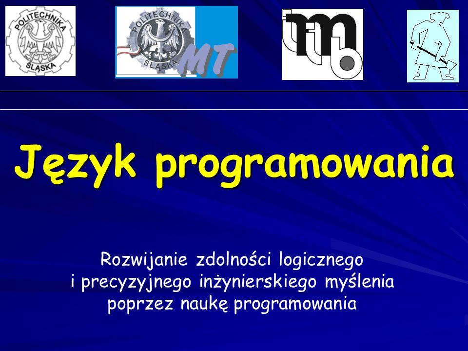 Język programowania Rozwijanie zdolności logicznego