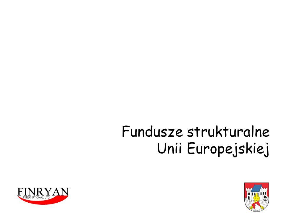 Fundusze strukturalne Unii Europejskiej