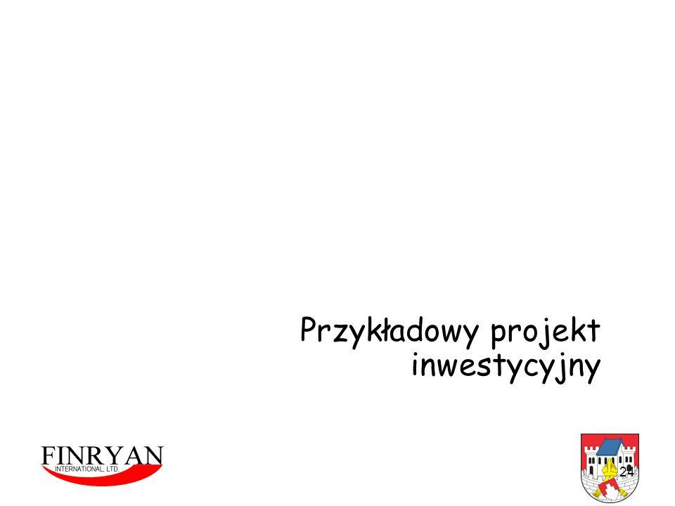 Przykładowy projekt inwestycyjny