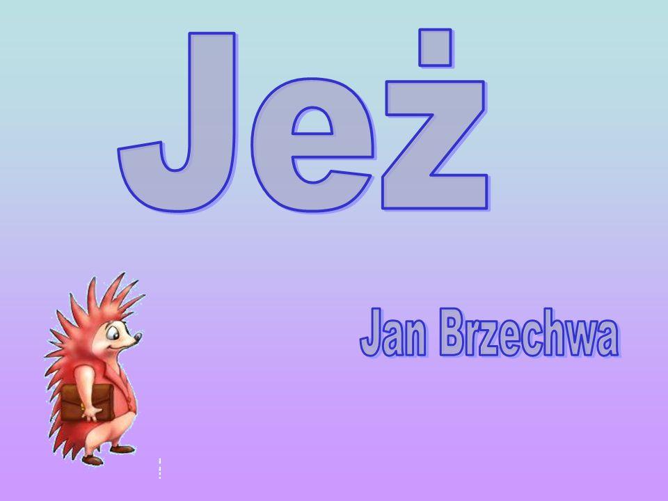 Jeż Jan Brzechwa