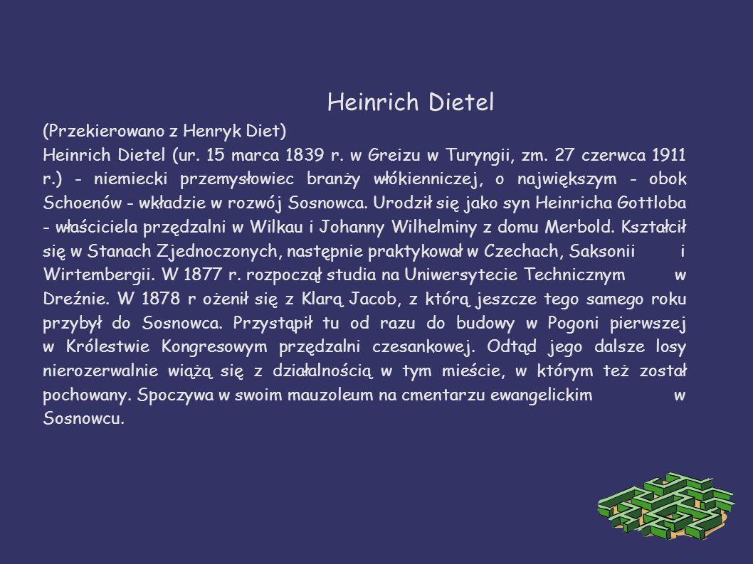 Heinrich Dietel (Przekierowano z Henryk Diet)