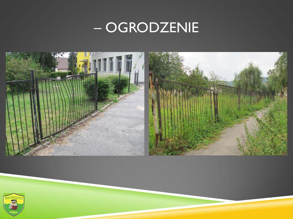 – ogrodzenie