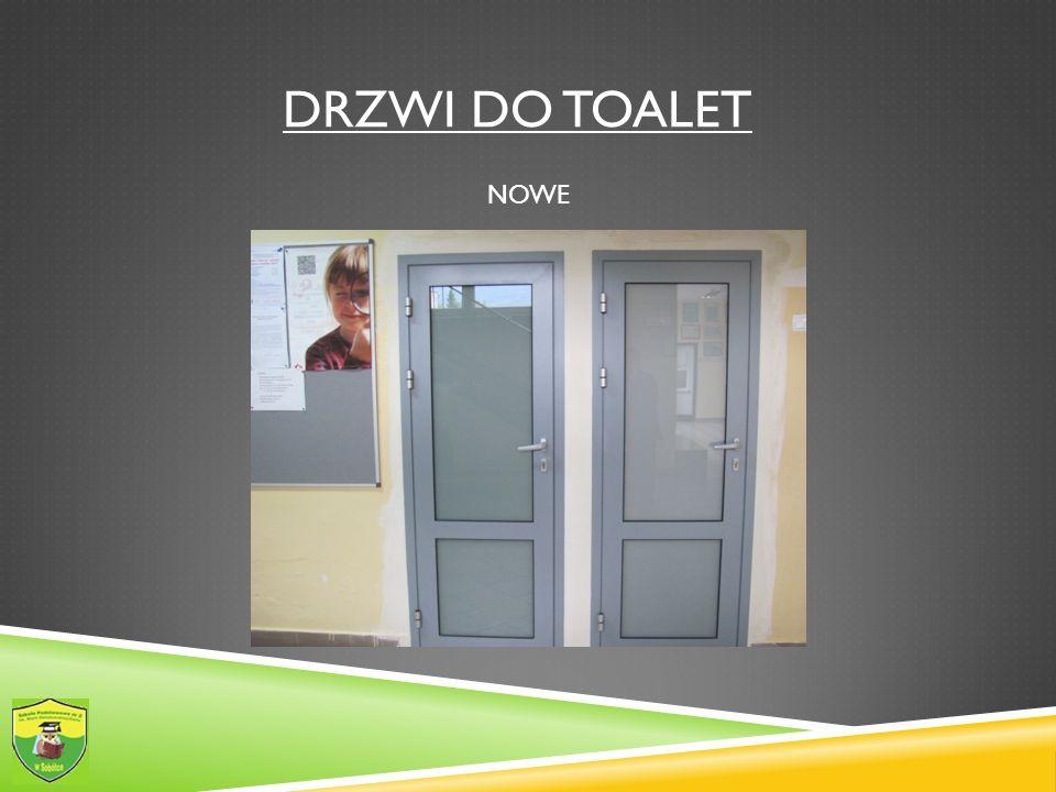 Drzwi do toalet NOWE