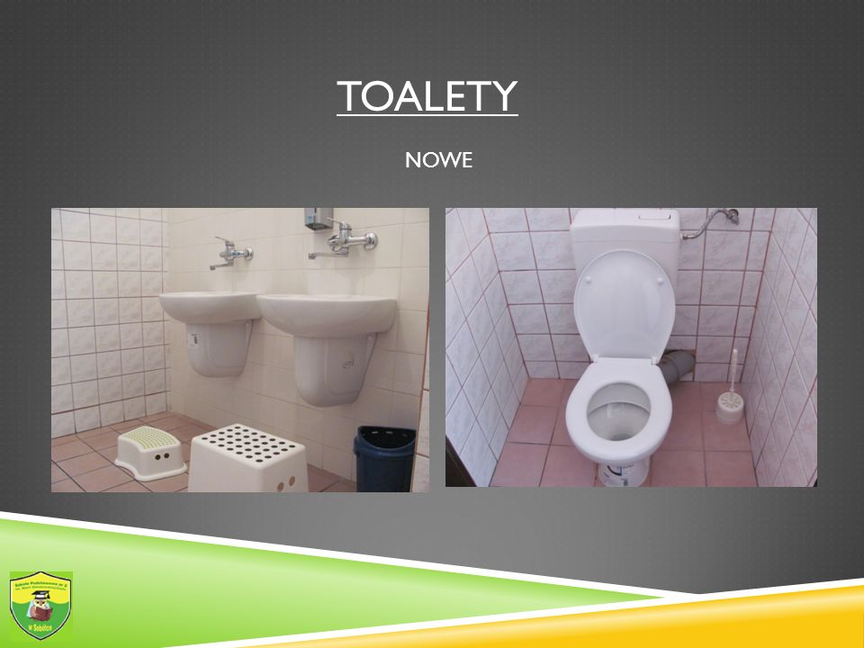 Toalety NOWE