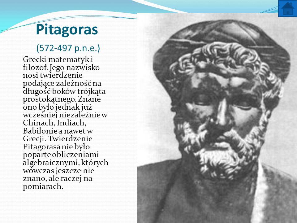 Pitagoras (572-497 p.n.e.)