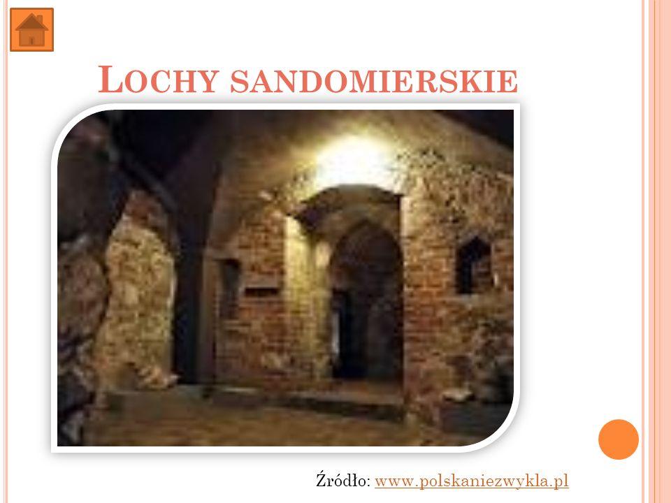 Lochy sandomierskie Źródło: www.polskaniezwykla.pl