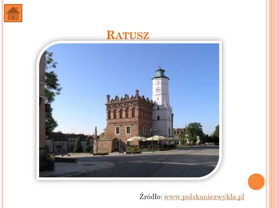 Ratusz Źródło: www.polskaniezwykla.pl