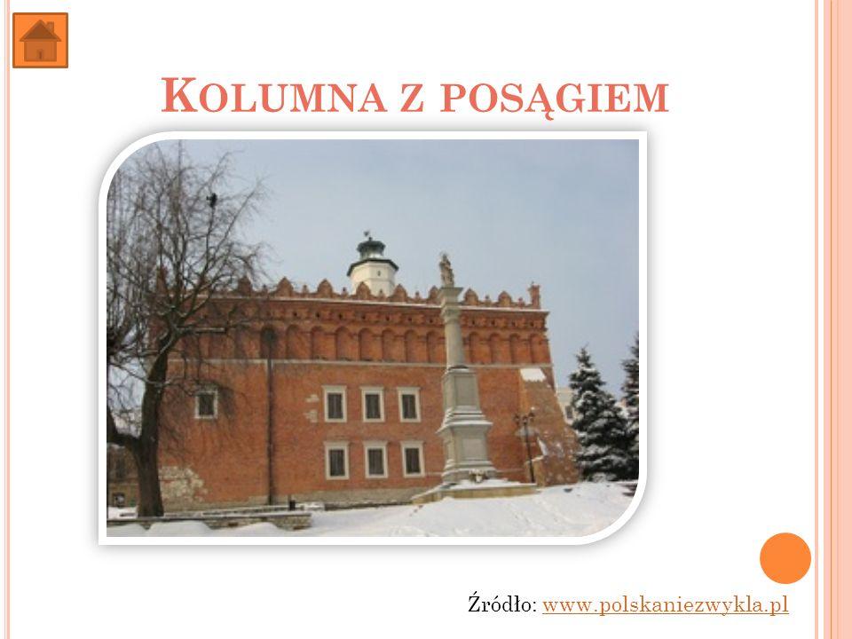 Kolumna z posągiem Źródło: www.polskaniezwykla.pl
