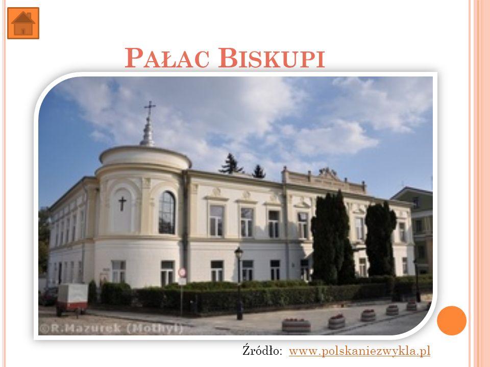 Pałac Biskupi Źródło: www.polskaniezwykla.pl