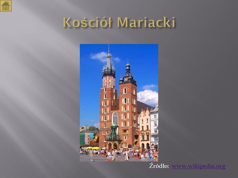 Kościół Mariacki Źródło: www.wikipedia.org