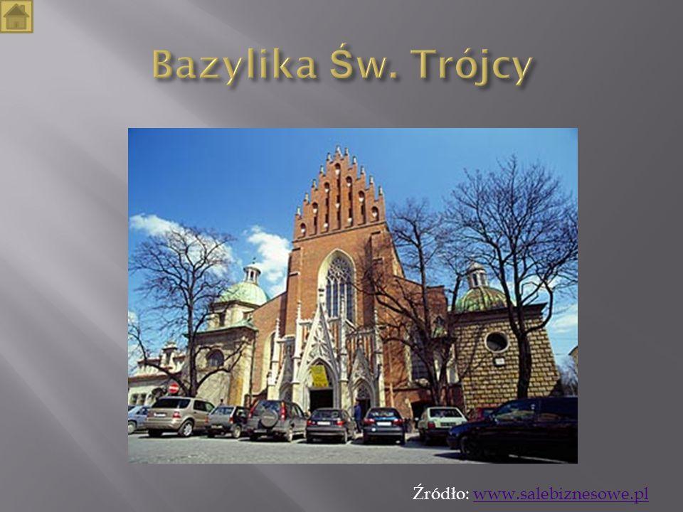 Bazylika Św. Trójcy Źródło: www.salebiznesowe.pl