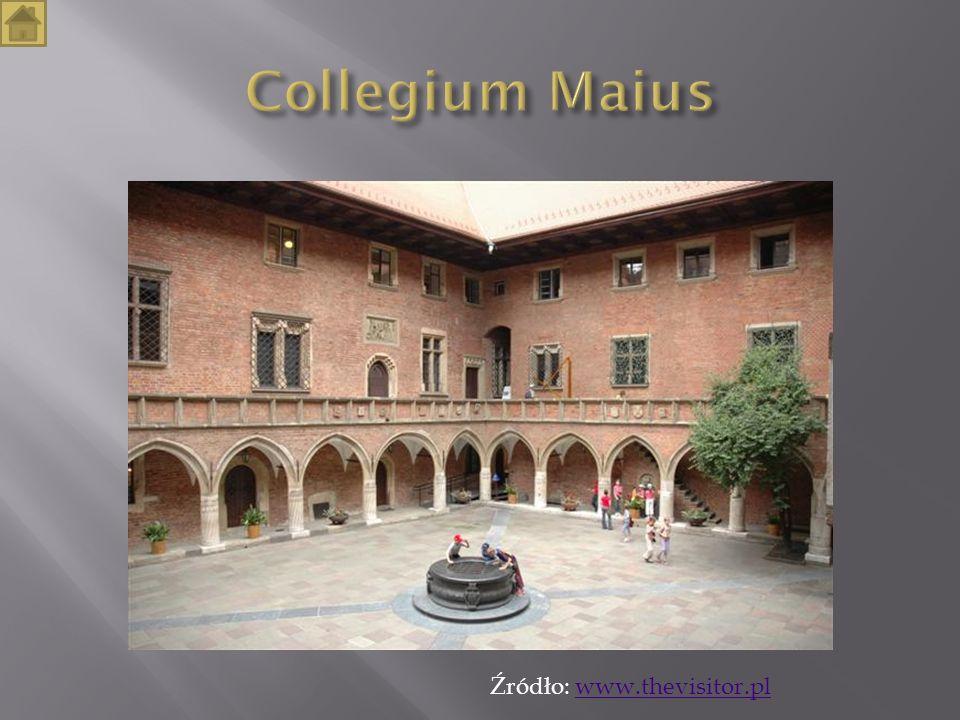 Collegium Maius Źródło: www.thevisitor.pl