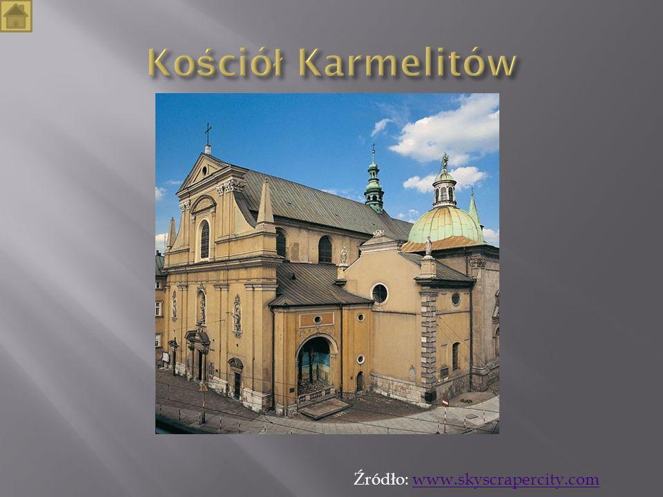 Kościół Karmelitów Źródło: www.skyscrapercity.com