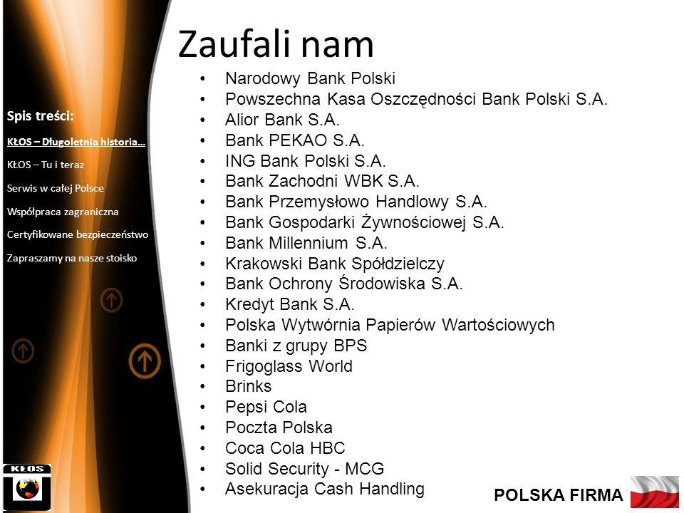 Zaufali nam Narodowy Bank Polski