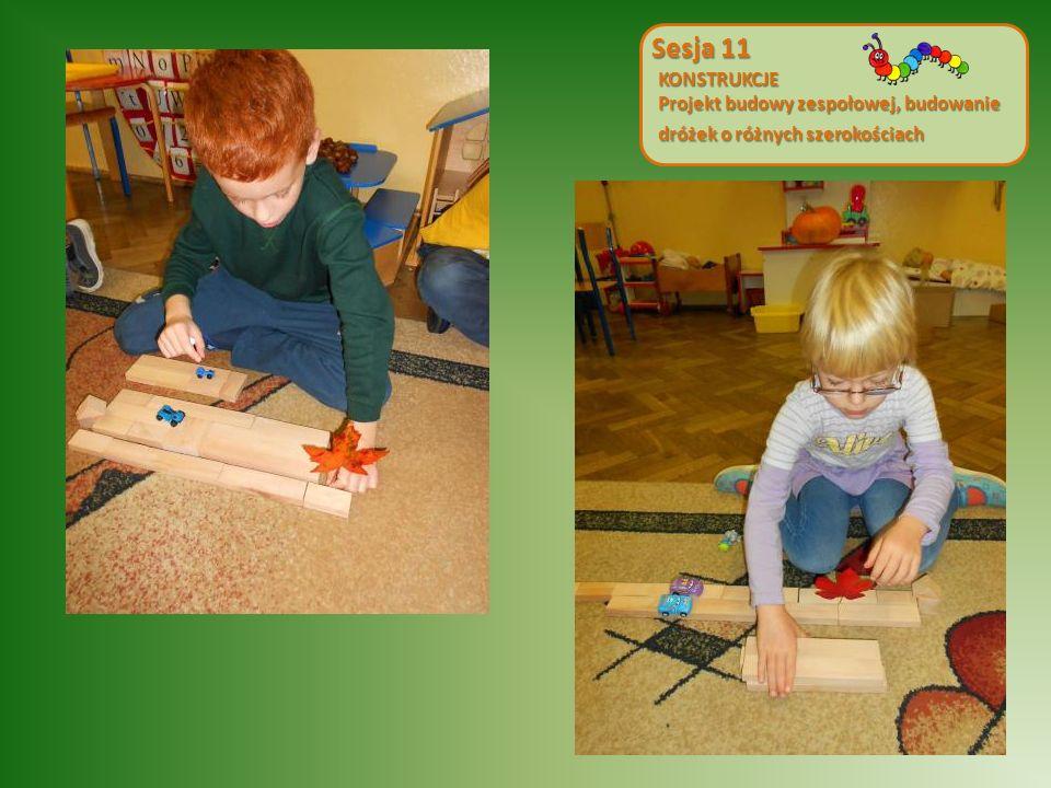Sesja 11 KONSTRUKCJE Projekt budowy zespołowej, budowanie dróżek o różnych szerokościach